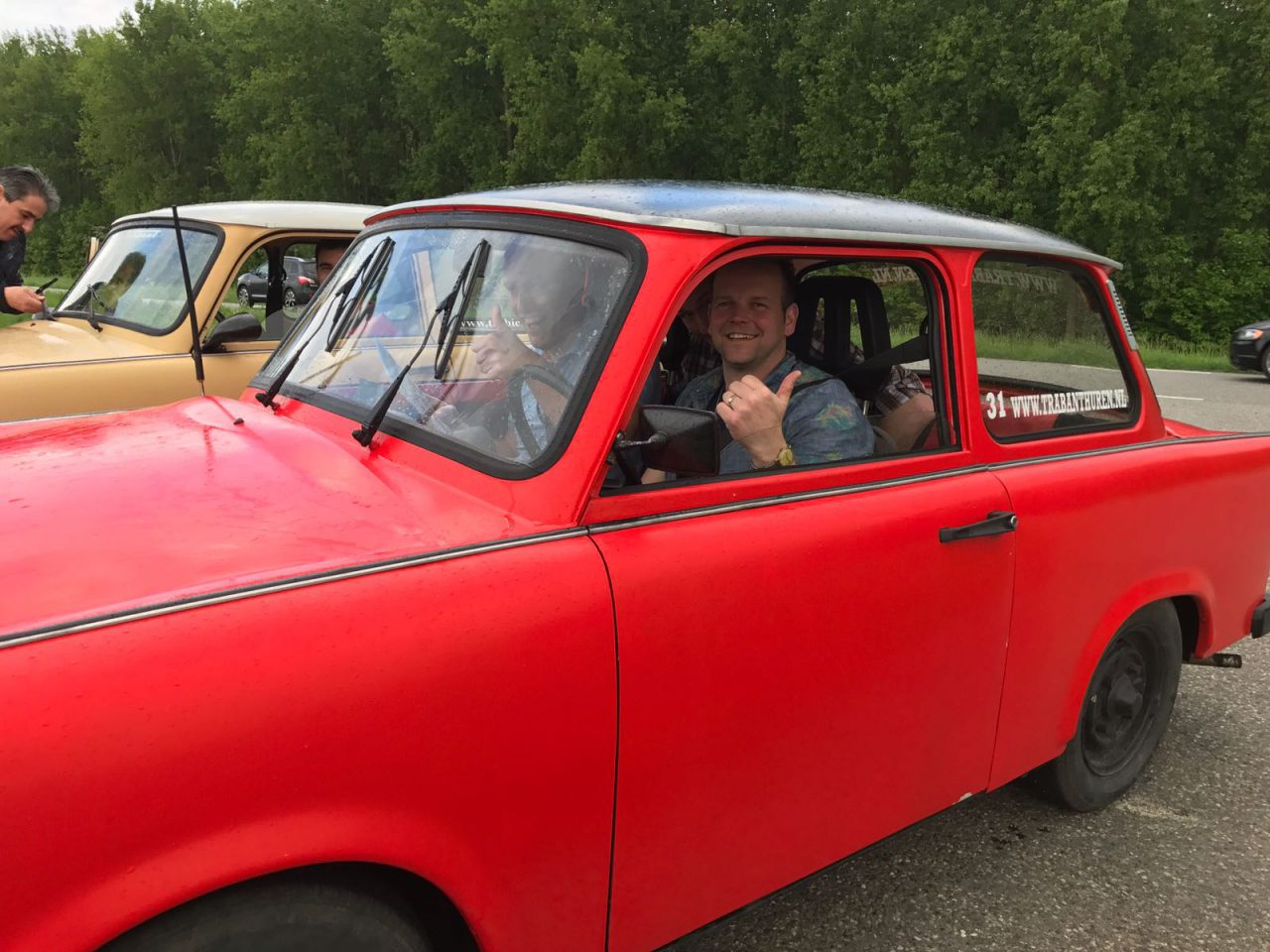 ABF takes good-old Trabant for a drive