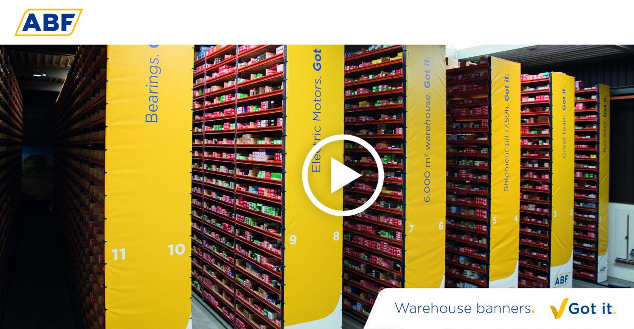 Facelift of warehouse ABF in just 11 seconds