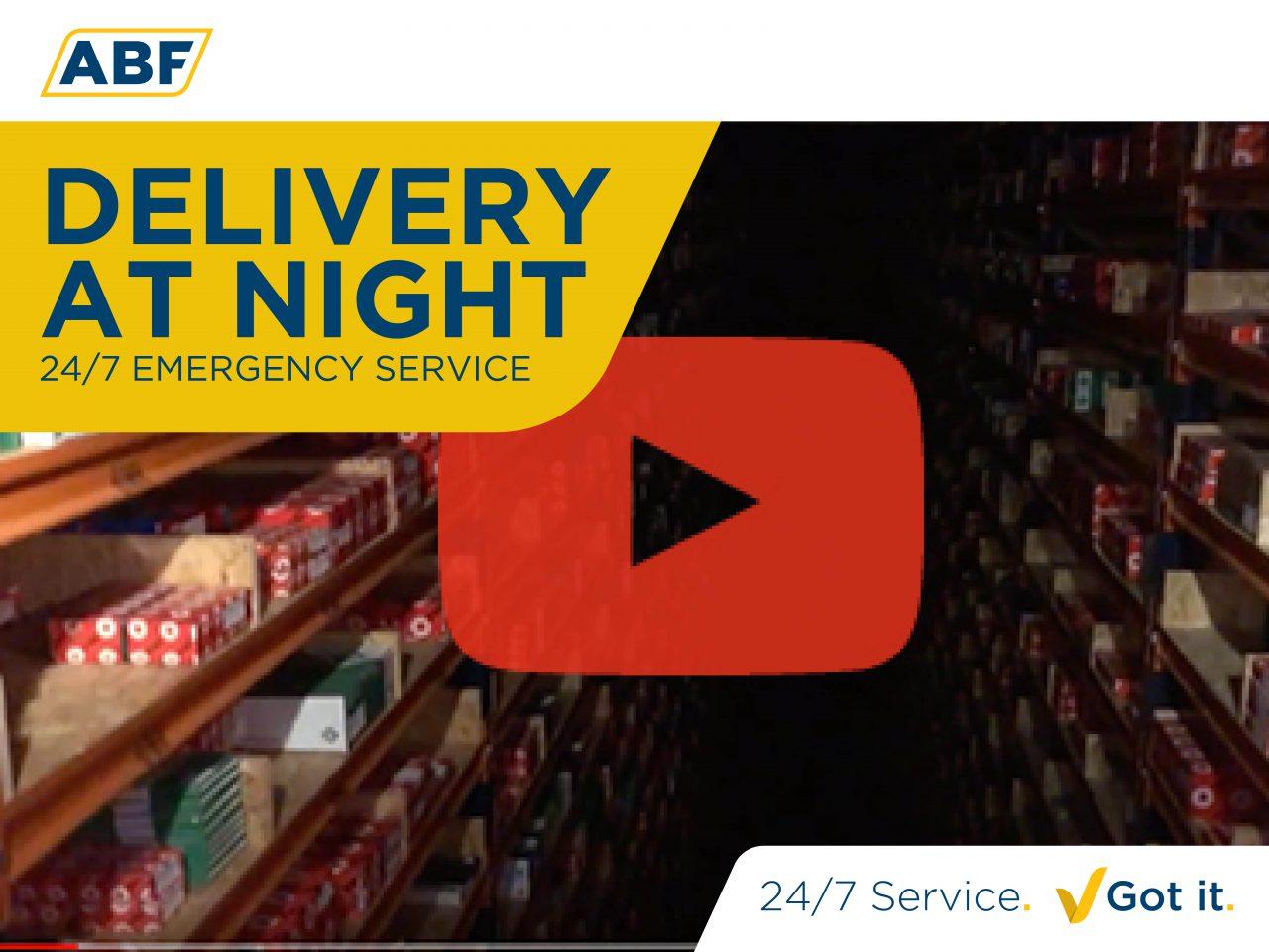 Klant midden in de nacht geholpen (video)