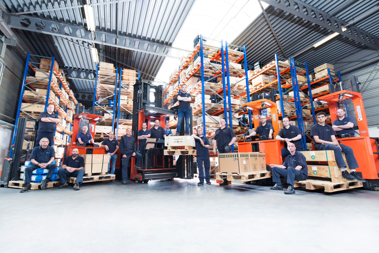 New warehouse equipment and extra personnel ABF