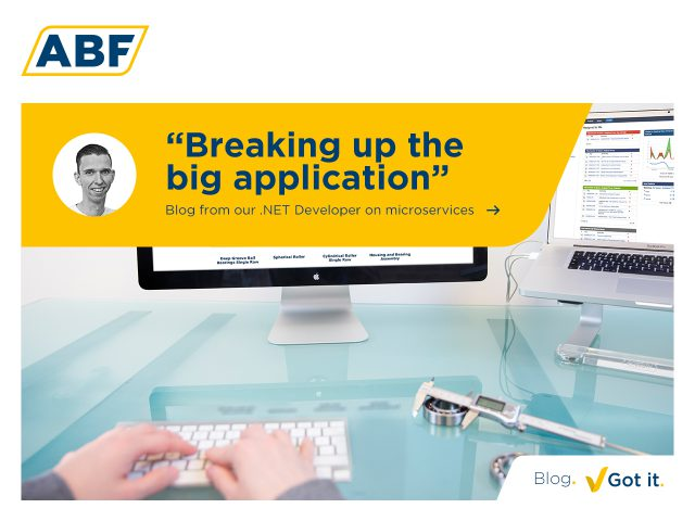 Breaking up the big application