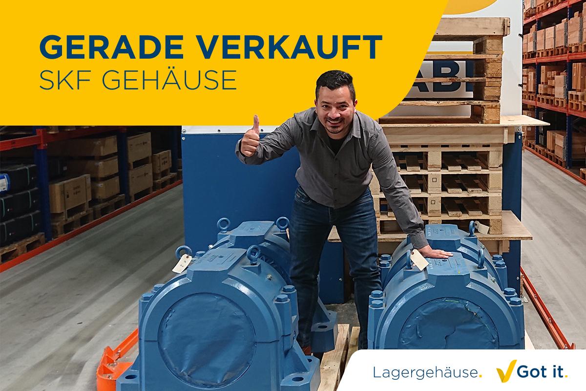 """Schnelle Lieferung von """"schwer zu findenden"""" SKF-Lagergehäusen"""