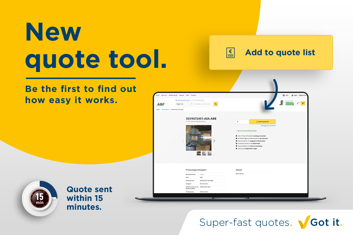 Try our new quote tool