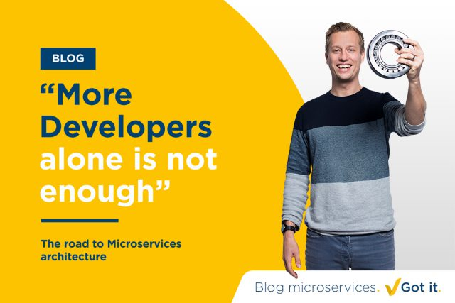 The road to Microservices architecture