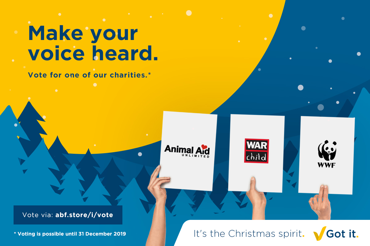 Donation to charities these holidays