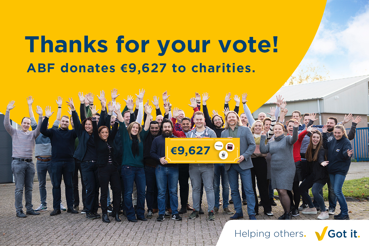 Thank you for your vote during our Christmas campaign