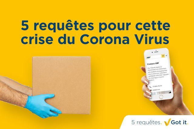 Voici comment nous pouvons mutuellement nous aider durant cet épisode du virus Corona