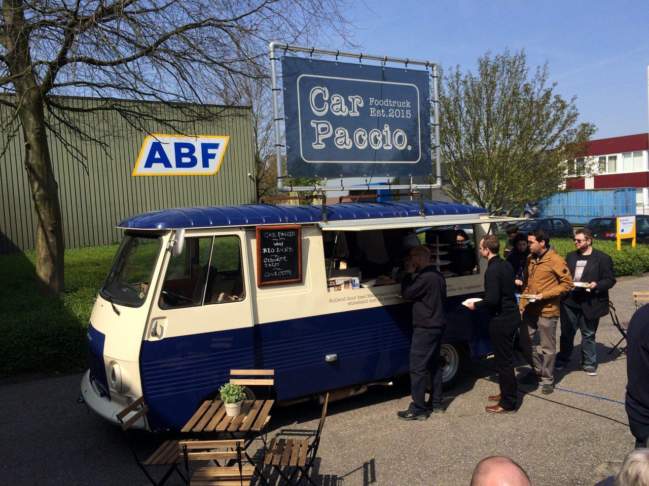 Food truck om goed begin van 2017 te vieren