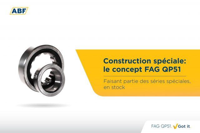 Roulements à rouleaux cylindriques FAG QP51 : un travail de haute précision