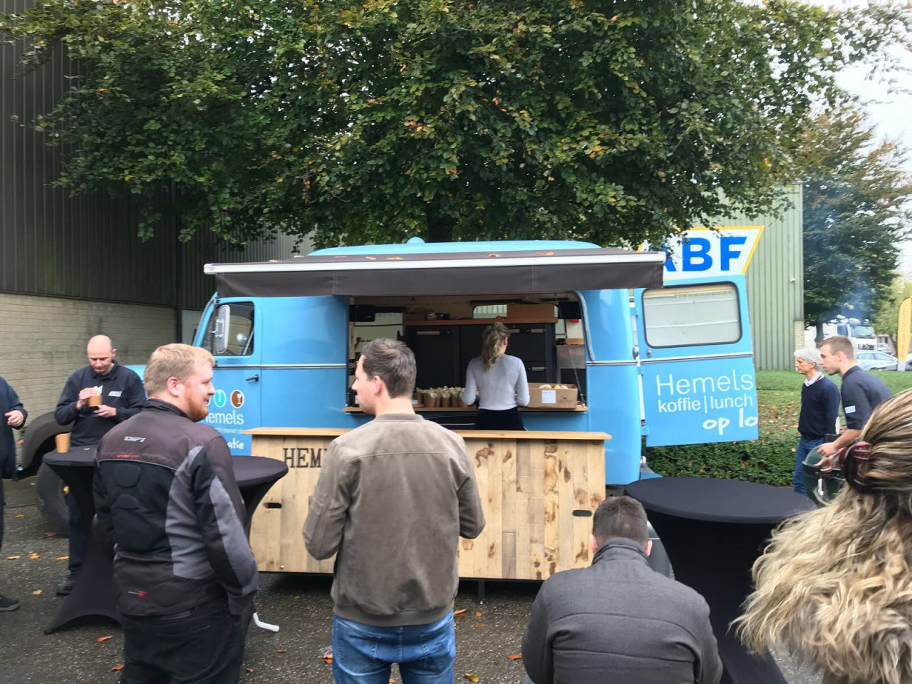 ABF celebrates record turnover with food truck