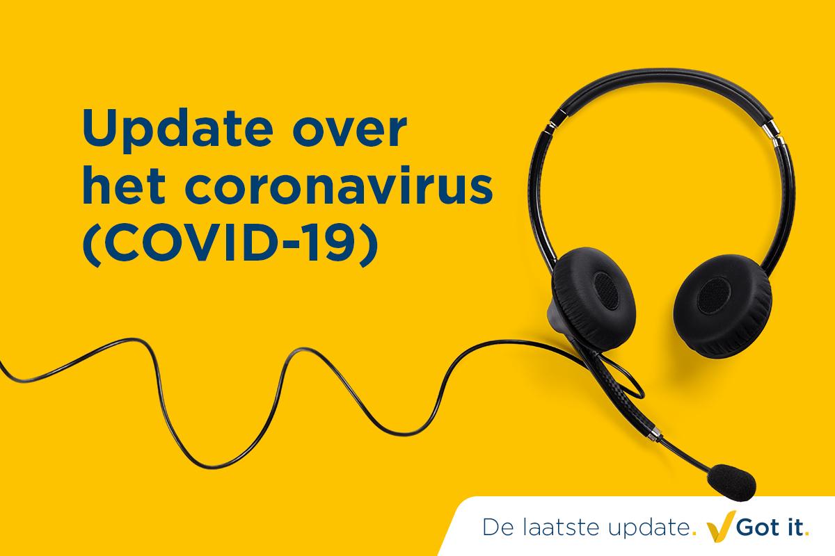 BELANGRIJK: COVID-19 nieuwspagina