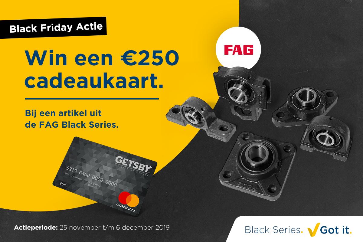 Black Friday actie: Win een cadeaukaart bij de FAG Black Series