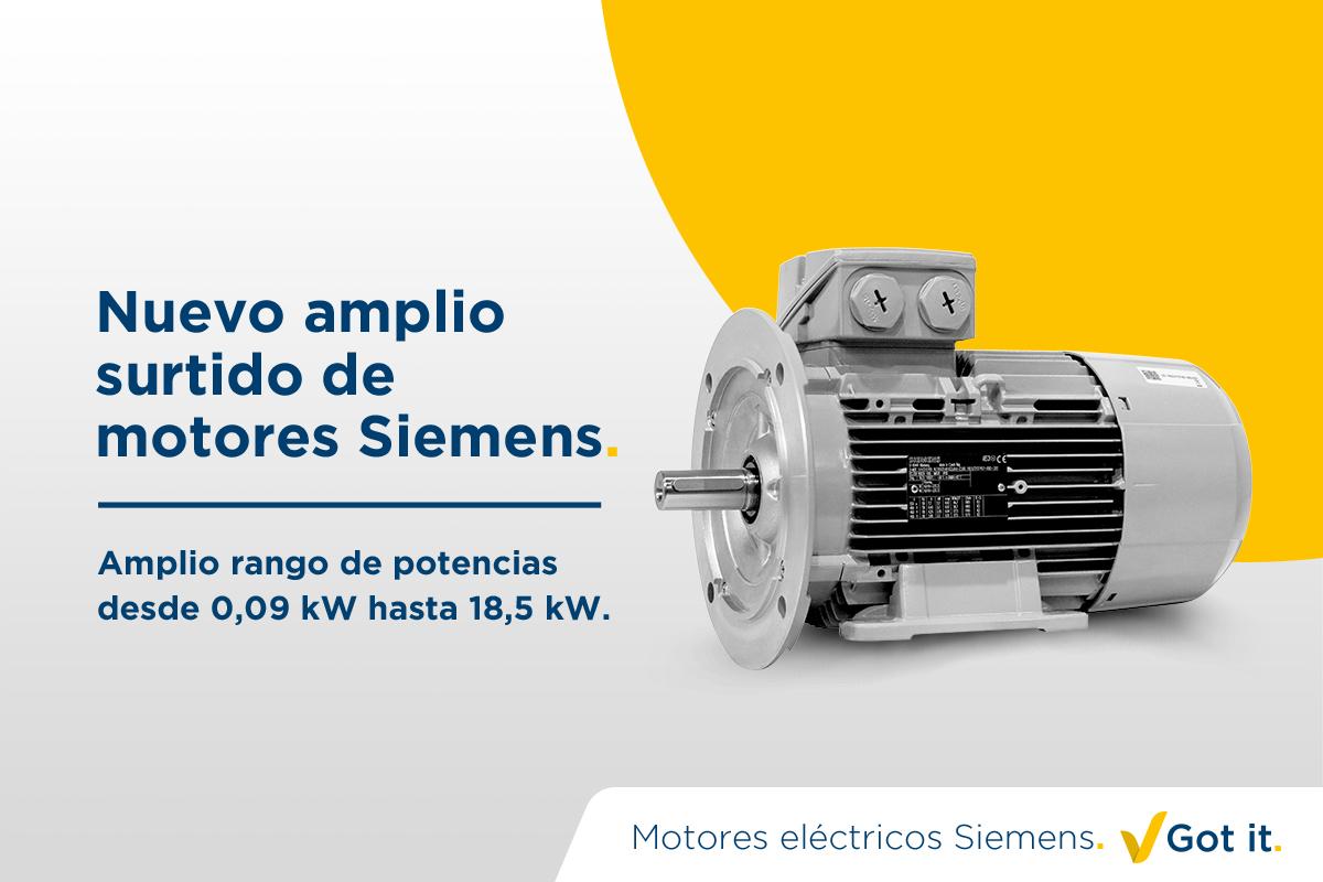 Ampliación de la línea de productos Siemens. Got It.