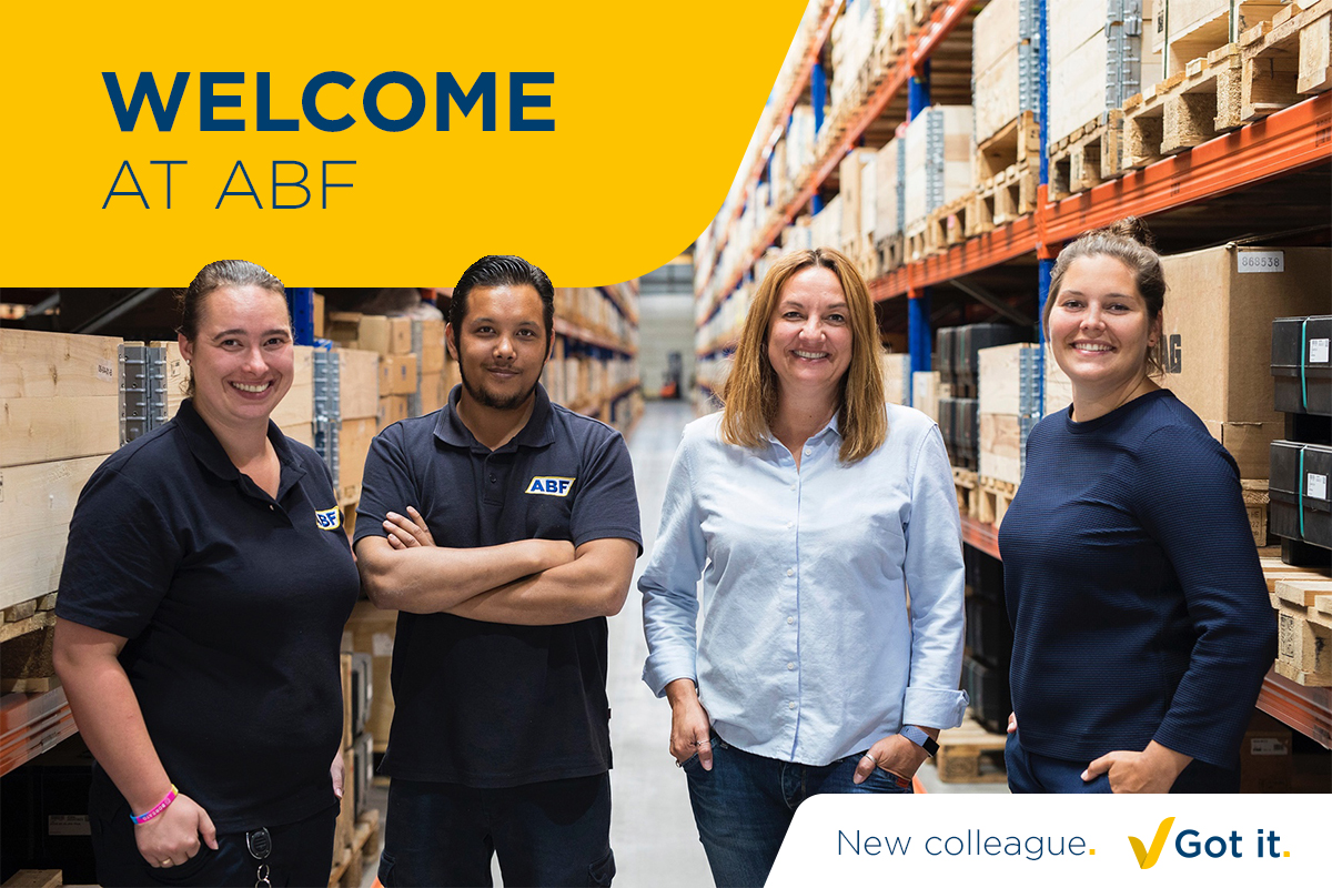 Wir freuen uns, dass wir neue Kollegen bei ABF begrüßen können