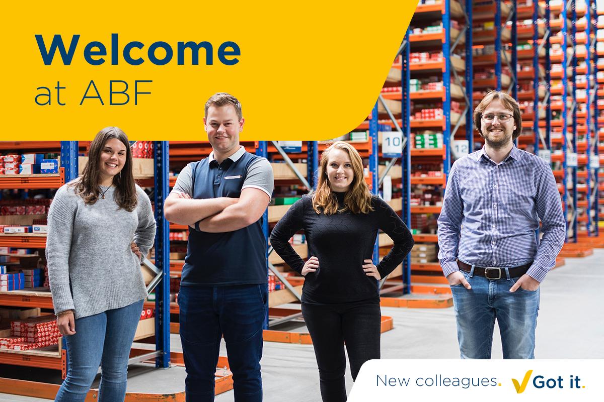 Siamo lieti di dare ancora una volta il benvenuto in ABF a nuovi colleghi